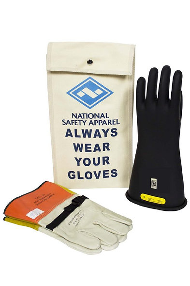 ArcGuard® Kit Guante Dieléctrico, Guante Protector y Bolsa Class 2