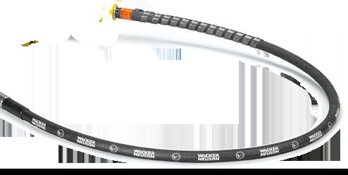 Ejes Flex. Para Vibradores de Concreto Internos Modulares WACKER NEUSON