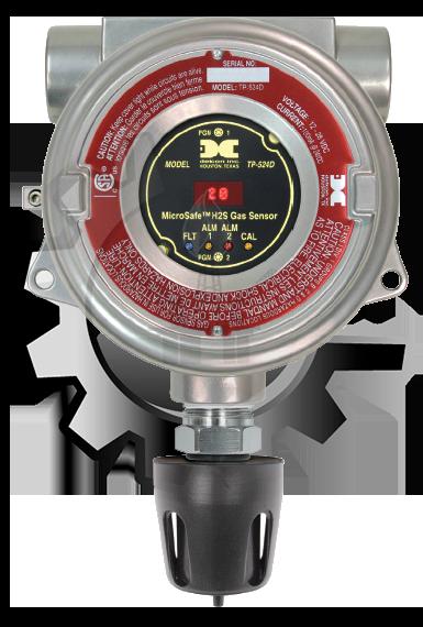 DETCON Detector de Gas H2S con Tecnología Catalítica