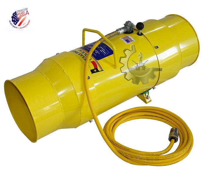 """AIRTOOLS® Tornado Ventilador Axial  Anti-Explosion 8"""", 12"""", 16"""" y 20"""""""