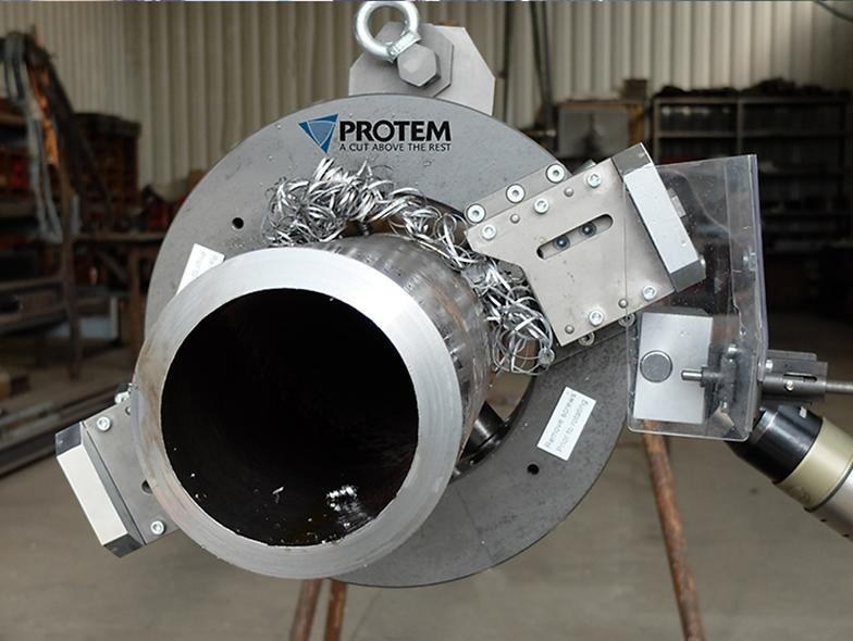 """Máquina Cortadora y Biseladora Orbital De Tubos Ø60.3mm-Ø610mm (2""""- 24"""")"""