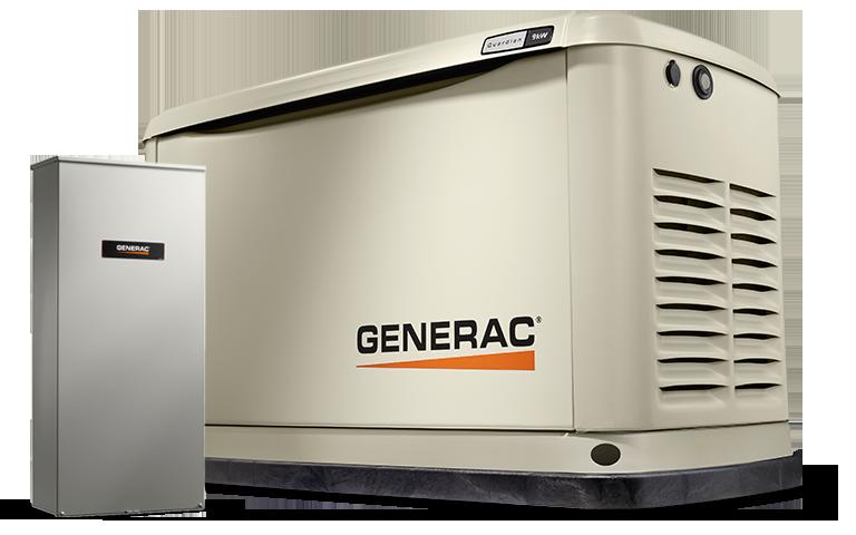 Grupo Generador a Gas 8 Kw 120/240 Volt 2F 3600 Rpm GENERAC