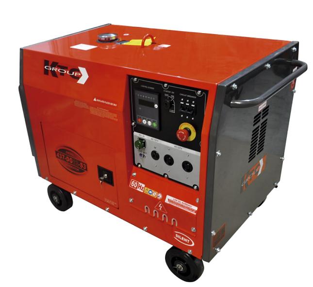 Grupo Generador Diesel 10,5 Kva 120/240 1F 3600Rpm Cabinado