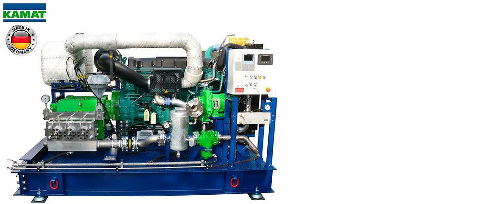 KAMAT® Hidrolavadora Alta Presión 1.160-43.500Psi (80-3000Bar)