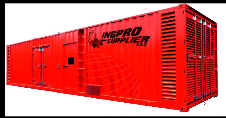 Grupo Generador Diesel 1875 Kva 3 Fases 1800 Rpm