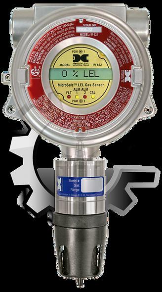 DETCON  Detector de Gas Combustible LEL Sensor Optico Infrarrojo