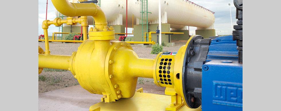 Bomba Centrífuga de Triple Etapa Para Gas GLP