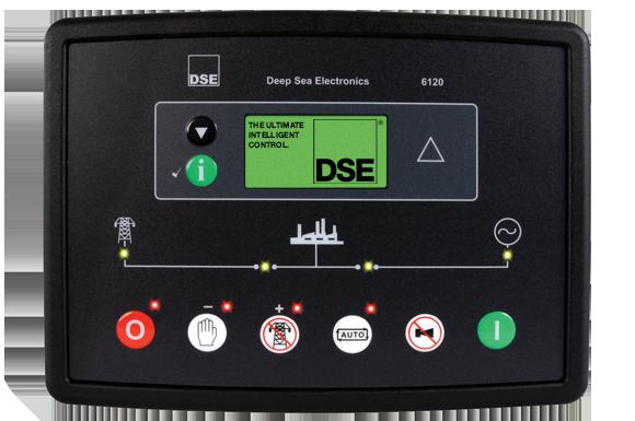 DEEP SEA® DSE6120 Modulo Auto Star/Off Para Generadores Electricos