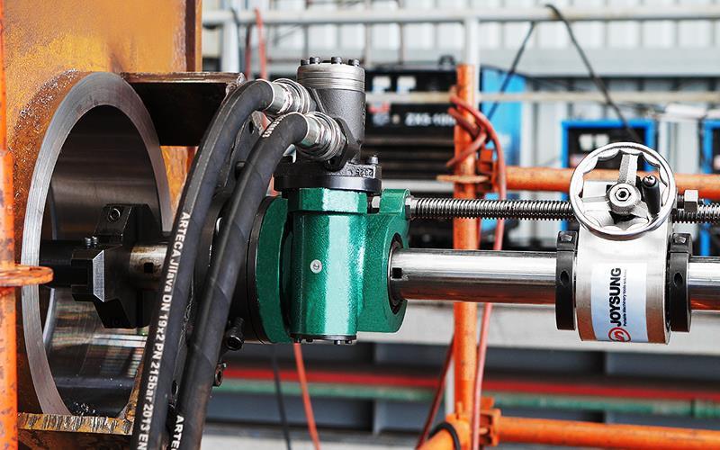 Torno Portátil Hidráulico / Eléctrico Φ35-600mm INGPRO