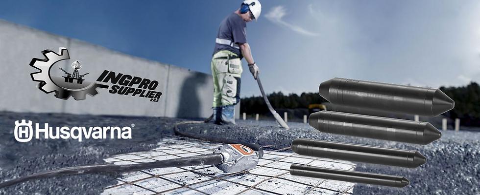 HUSQVARNA Cabezas Para Vibradores de Concreto Internos Modulares