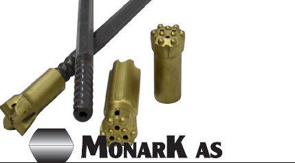 Monark® / Sandvik® Sistema de Perforación Roscado