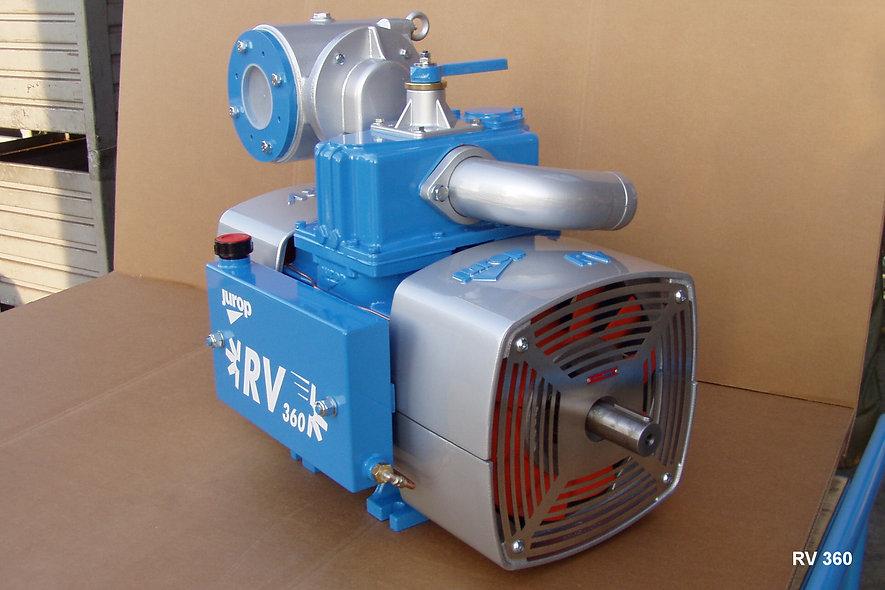 RV-RVC JUROP® Bomba De Vacío Rotativa Refrigerada Por Ventilación