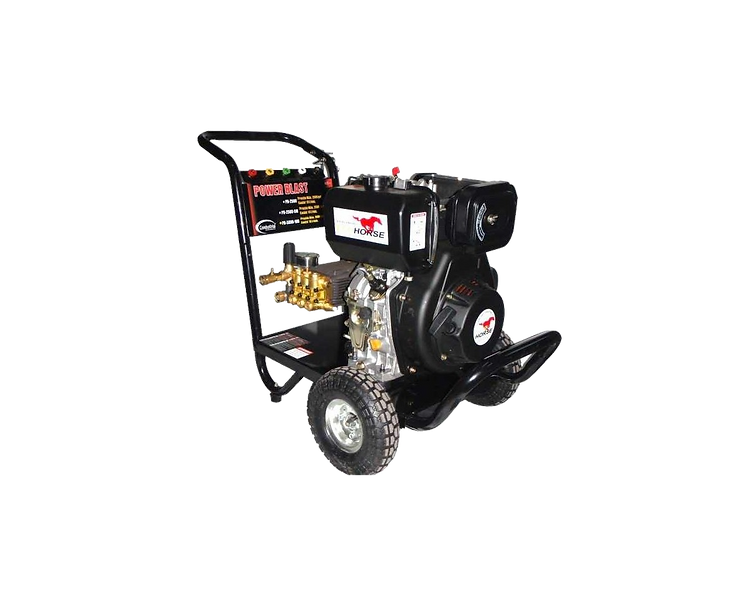 Hidrolavadora de 3.000-3.500 Psi  Motor Diesel 10Hp @3600Rpm