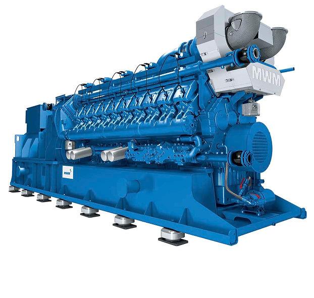 Grupo Generador a Gas 1400-2500 KVA 480 3F 1500 Rpm DEUTZ