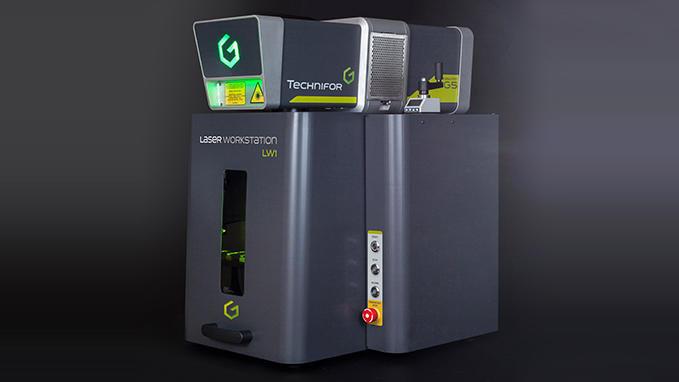 LW1 GRAVOGRAPH Marcador por Impresión Laser
