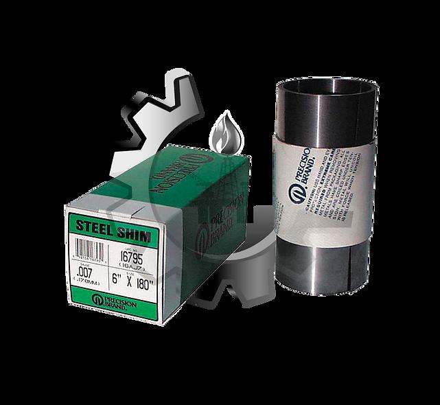 """SHIMS - Lámina Rollo de Acero de Bajo Carbono 6"""", 12"""" y 150mm"""