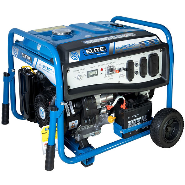 Grupo Generador Gasolina 9 Kva 120/240 1F 3600 Rpm ELITE