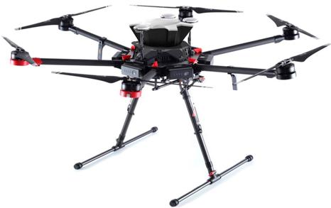 SafeAir® M-600 DJI® Paracaídas para Drone