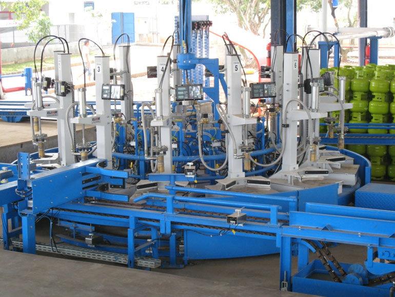 Máquinas de Llenado Electrónicas con Cabezal de Llenado Automático