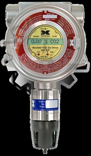 DETCON Detector de CO2 Sensor Optico Infrarrojo