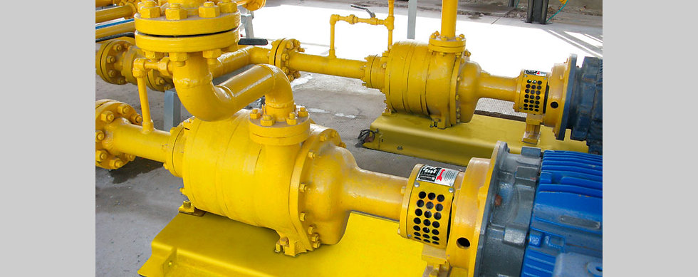 Bomba Centrífuga de Cuádruple Etapa Para Gas GLP