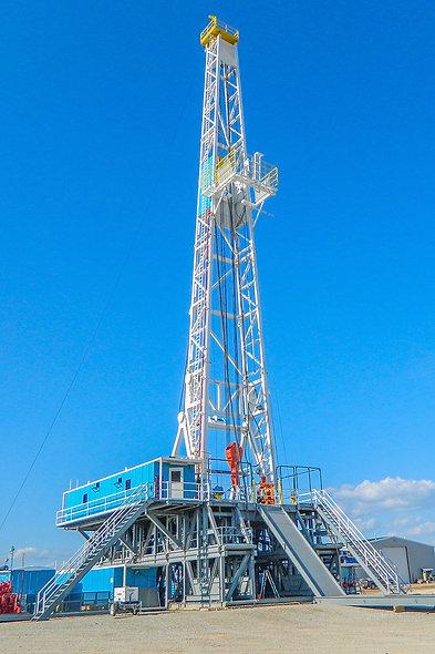 Taladro de perforación petrolero caminante 2000hp