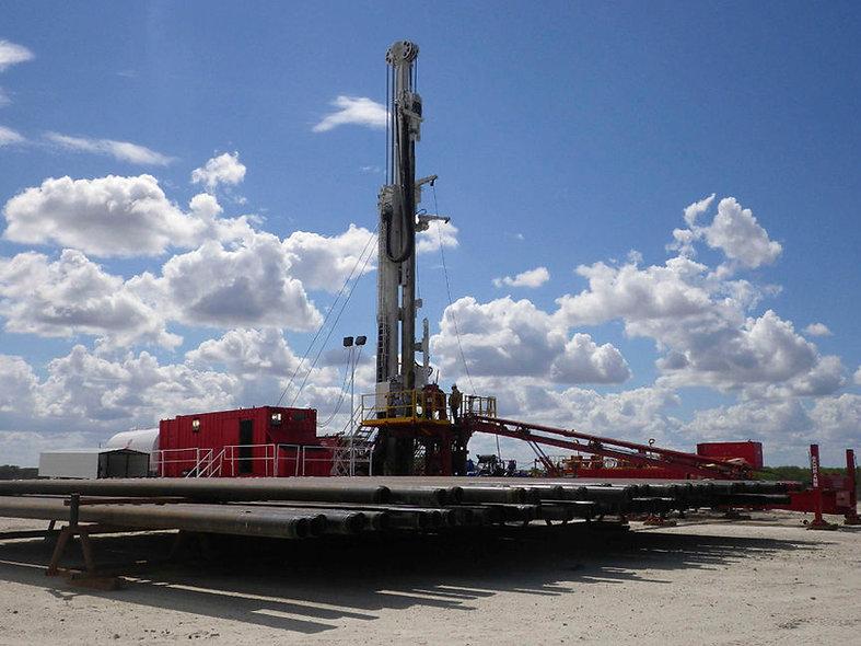 Taladro de perforación petrolero caminante 1200hp