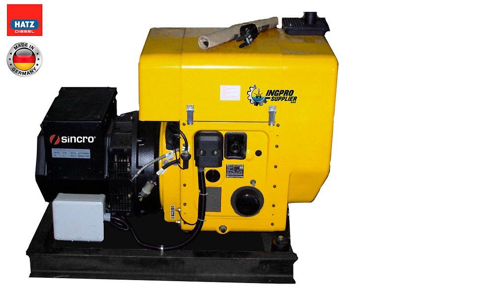 Grupo Generador Diesel 5,1/4,6 Kva  1800 Rpm