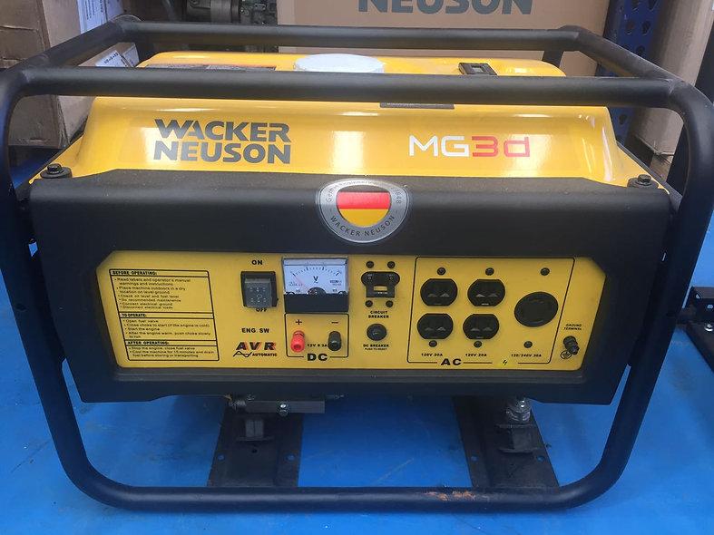 Grupo Generador Gasolina 2,7 Kw 120/ 240 1F 3600 Rpm WACKER