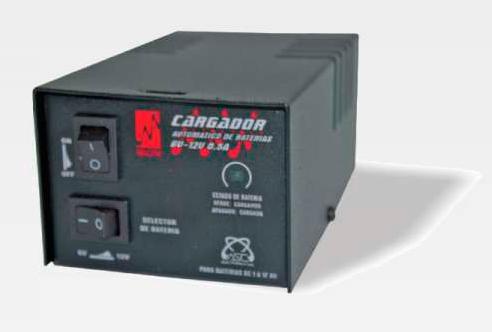 Cargador Automatico de Baterias 12VDC / 1-17Amp
