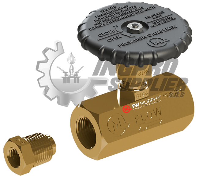 FW MURPHY® Amortiguador de Pulsaciones P/Manómetros