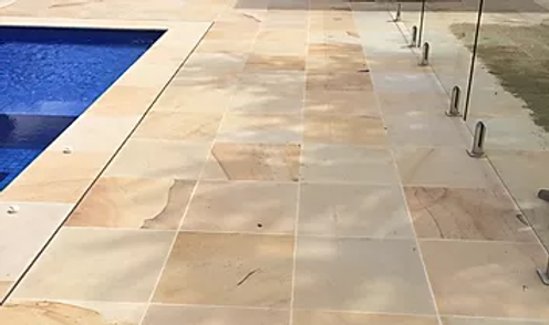 Sandstone - Sahara - Pavers - Calibrated