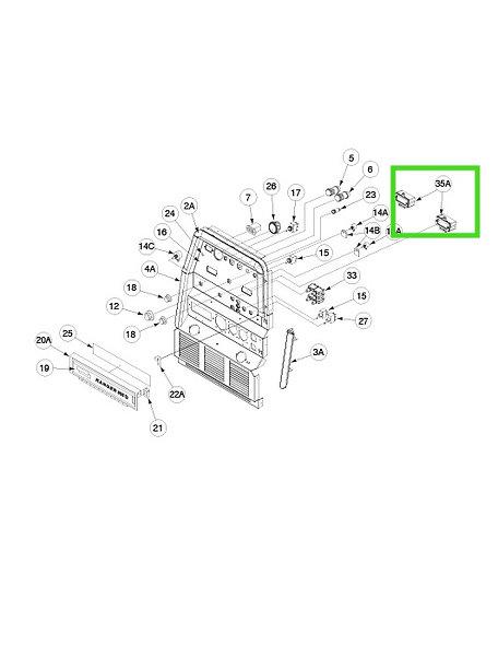 Digital Weld Meters Kit For Ranger-305D LINCOLN ELECTRIC