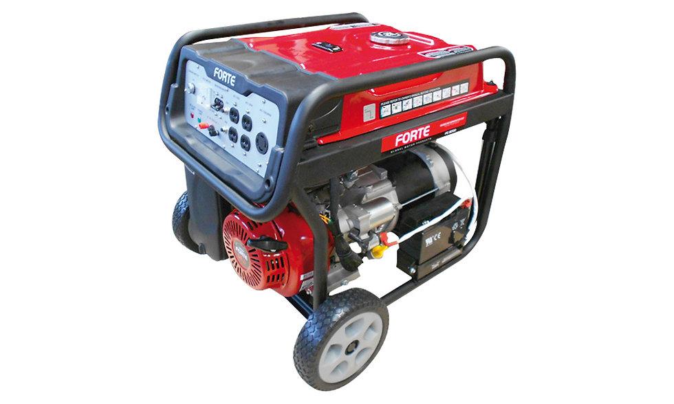Grupo Generador Gasolina 10 Kva / 8 KW 120/240Volt 1F 3600 Rpm FORTE