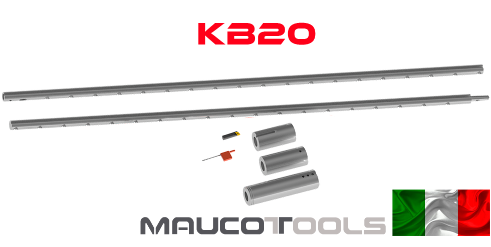 KIT 20 Mandrinaje y Aporte de Soldadura desde Ø22mm - Ø42mm