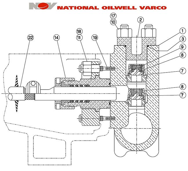 Repuestos Bombas Quintuplex NATIONAL - NOV 300Q-5M