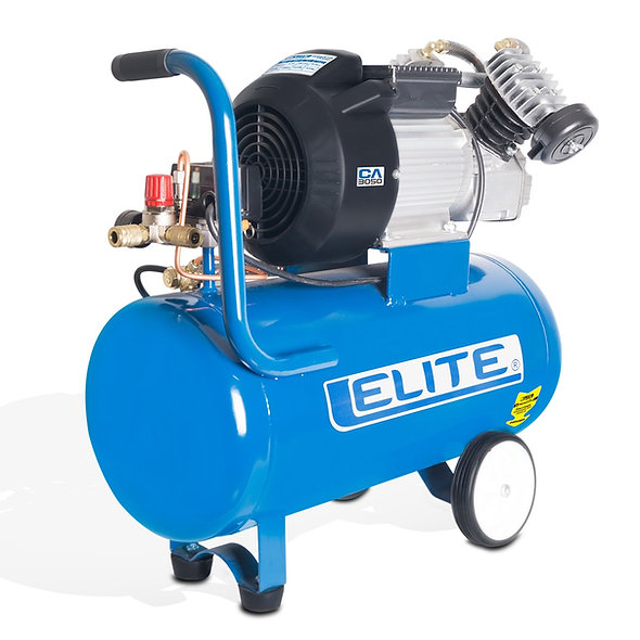 Compresor 3,0 hp 2 Piston 125 Psi 50 Litros 12,7 Cfm ELI