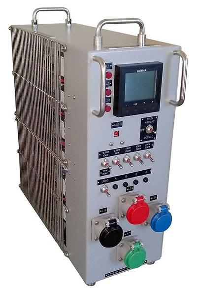 ULB® Banco de Carga Resistiva 100Kw 240/480VAC Portatil