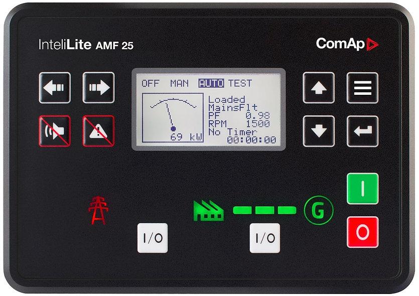 Modulo Auto Star/Off Para Generadores Electricos ComAp
