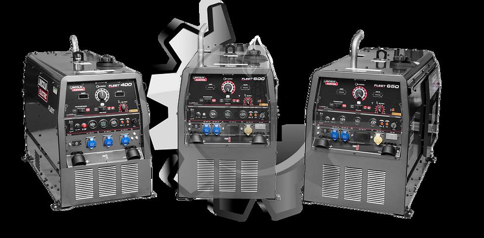 FLEET™ 400 LINCOLN Motosoldador 400 AMP
