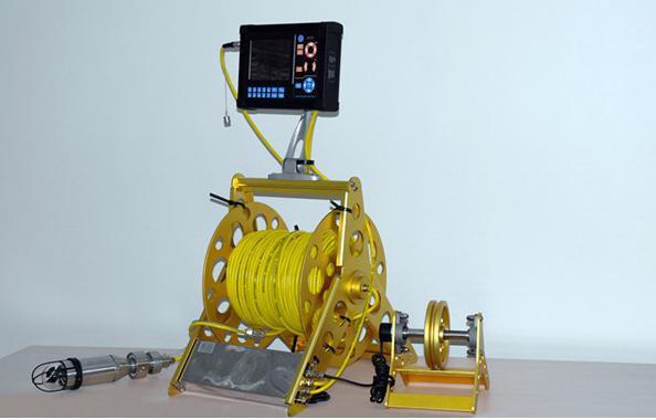 Cámara Inspección subacuática alcantarillado y tuberías con giro e inclinación