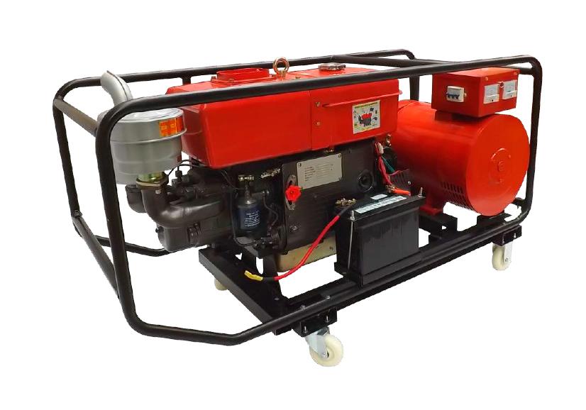 Grupo Generador Diesel 10 Kva 110/220 1F 2200 Rpm KTC