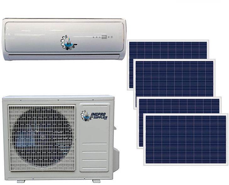 Aire Acondicionado Con Sistema de Panel Solar