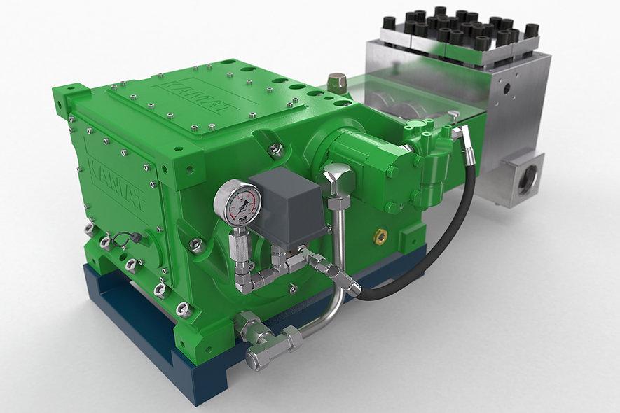KAMAT® K 10000-3G Bomba P/Hidrolavadora Triplex  1.300-50.000 Psi
