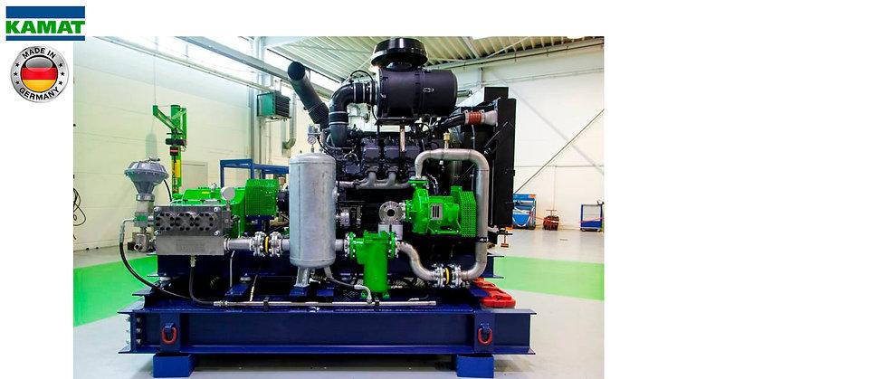 KAMAT® Hidrolavadora Alta Presión 870-46.200Psi (60-3.185Bar)