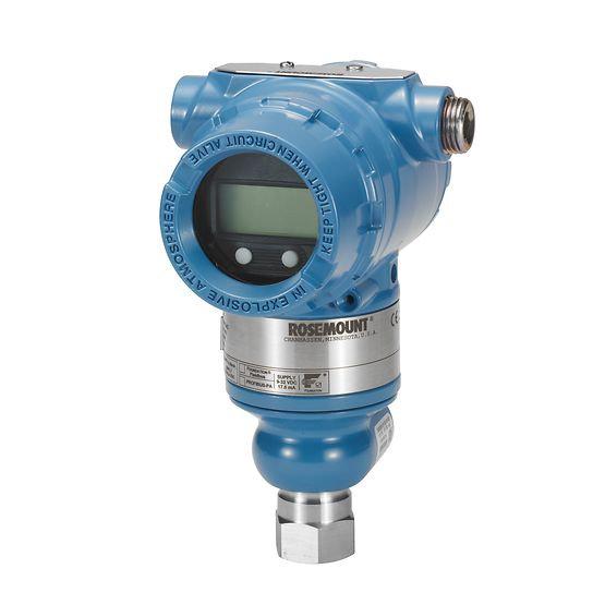 Rosemount™ 3051 Transmisor de presión en línea
