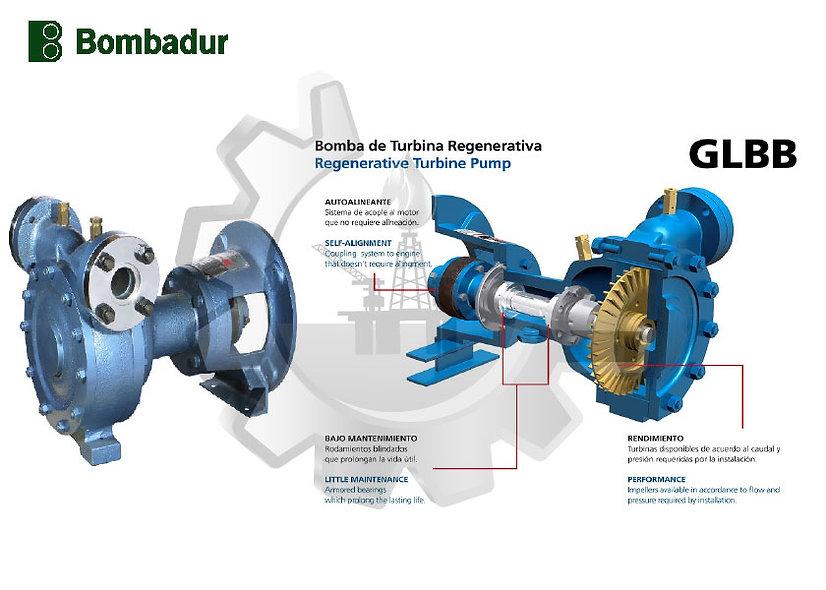BOMBADUR™ Bomba Centrífuga de Simple Etapa Para Gas GLP  2,0 m3/h (8,8 Gpm)