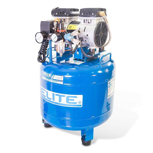 Compresor Libre de Aceite 2,0 hp 2 Pistones 125 Psi 42 Litros 6,5 Cfm ELITE