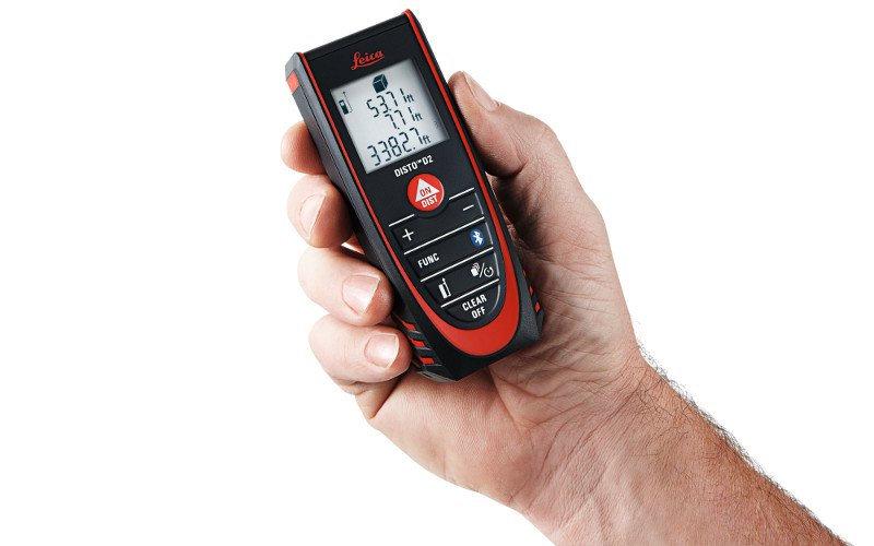 LEICA® Distanciómetro láser compacto de 100 m de alcance y Bluetooth® Smart