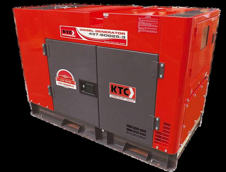 Grupo Generador Diesel 22 Kva 127/220 3F 1800Rpm Cabinado